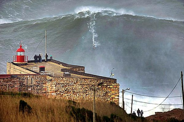 100ft wave surfed - biggest wave ever surfed and caught on camera