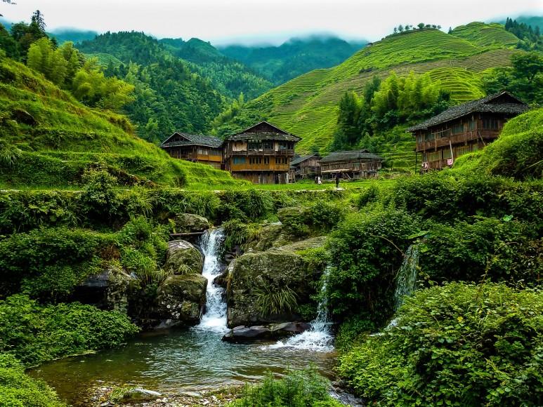 Zhonglu Village, Longji