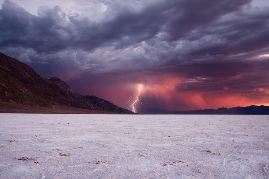 Electrical Storm in Death Valley