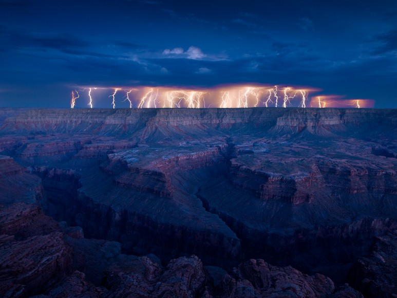 Grand Canyon Electrical Storm