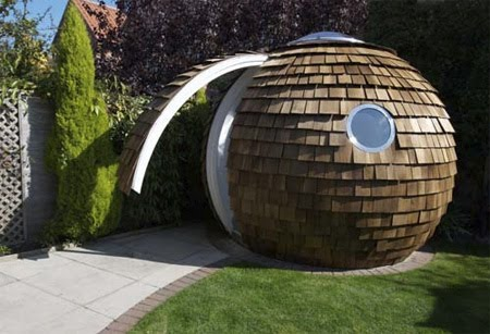 Archipod is a great little garden office ~ Cool Things Collection ...