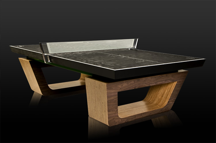 Superior Showcasing The Best Ping Pong Table Designs From Around The World. We Love  This First Ping Pong Table Design With Its Chunky Legs And Aztec Type  Design.