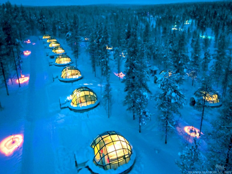 hotel igloo village best place to stay and see the northern lights cool things collection. Black Bedroom Furniture Sets. Home Design Ideas