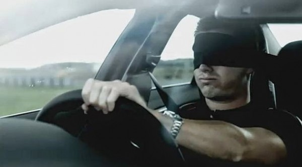 Blindfold-driving