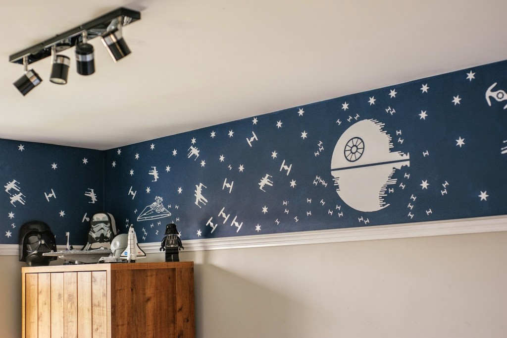 How we created our boys Star Wars themed bedrooms ~ Cool Things ...