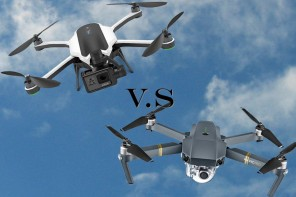 Battle of the portable foldable drones. DJI Mavic Pro winning 'on paper' vs GoPro Karma