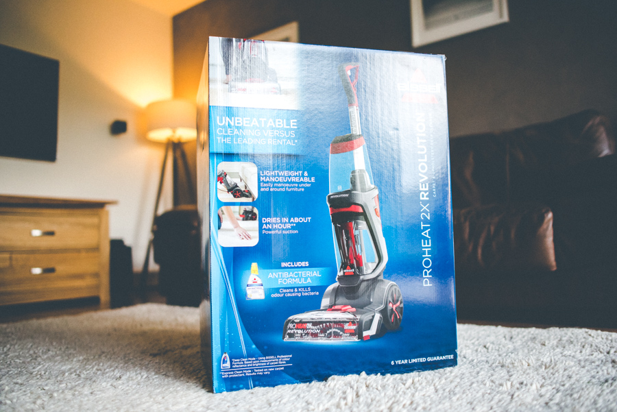 Bissell carpet cleaner has arrived!