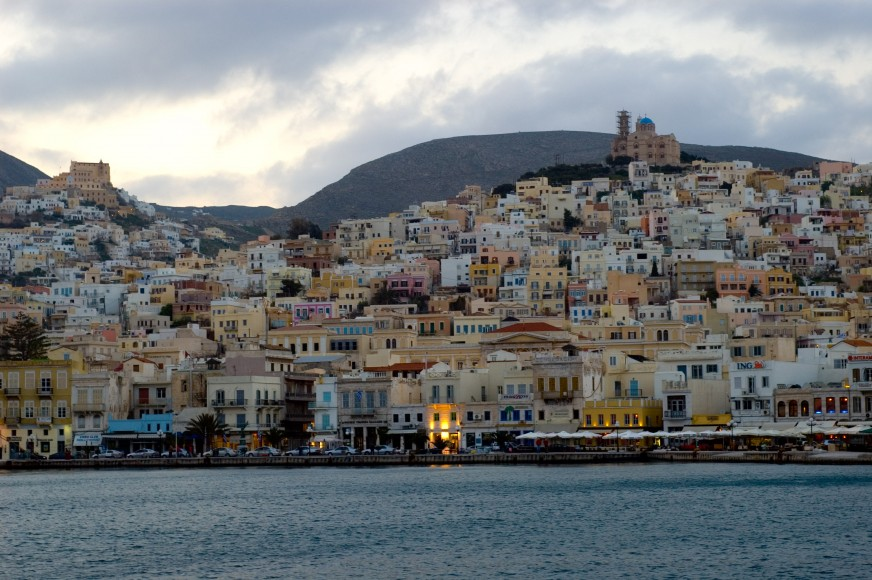 Syros Harbor