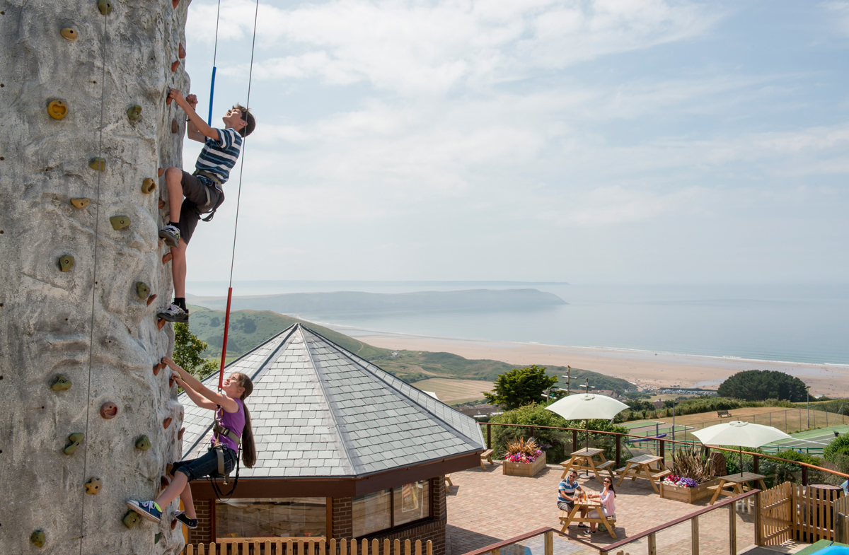 Golden Coast Holiday Park, Woolacombe, Devon