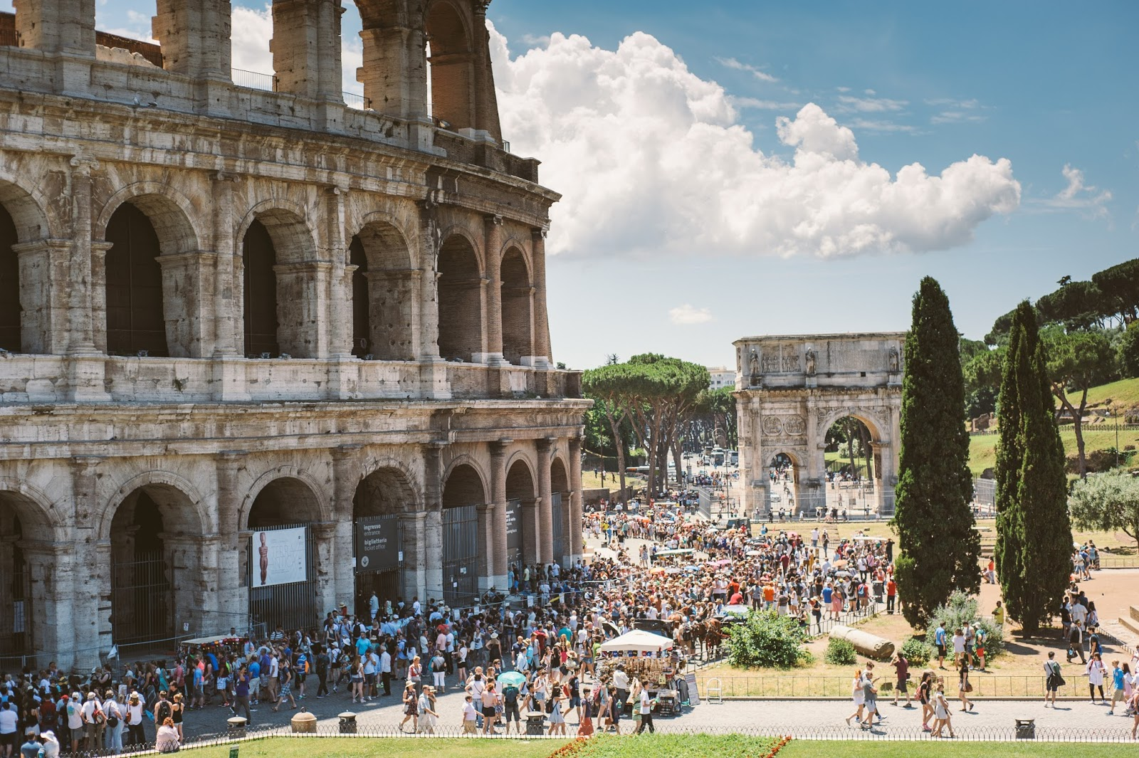 rome weekend city break