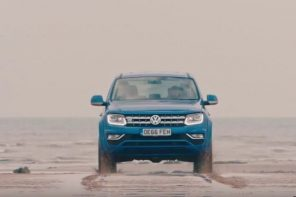 Volkswagen Commercial Vehicle's new Amarok takes on a cool off-road challenge