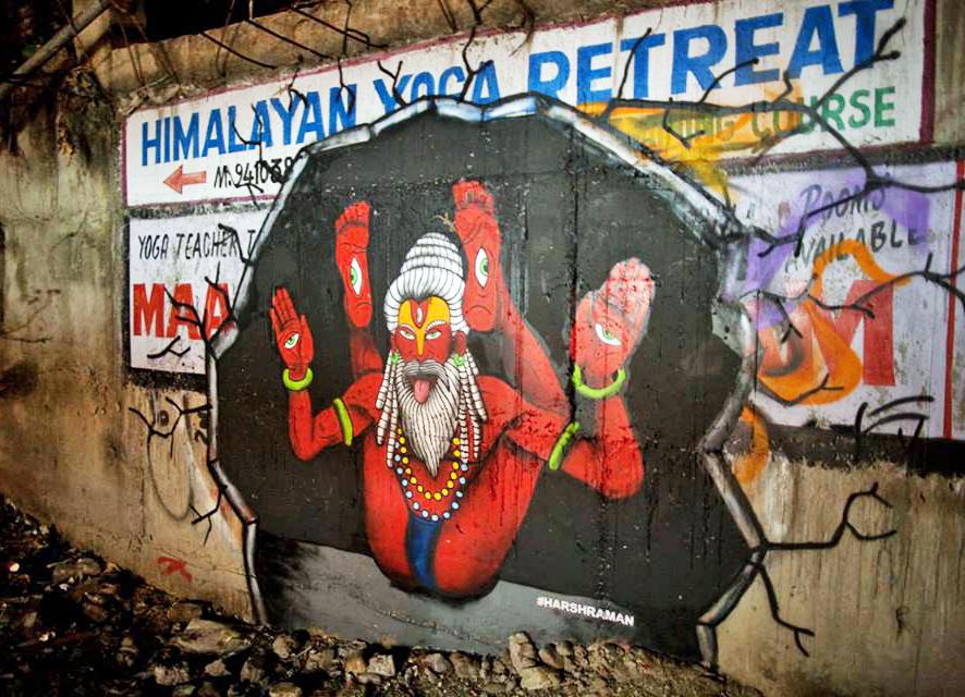 Rishikesh Street Art Festival
