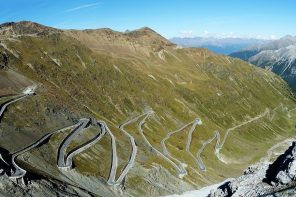 5 Coolest Driving Roads In Europe (Infographic)
