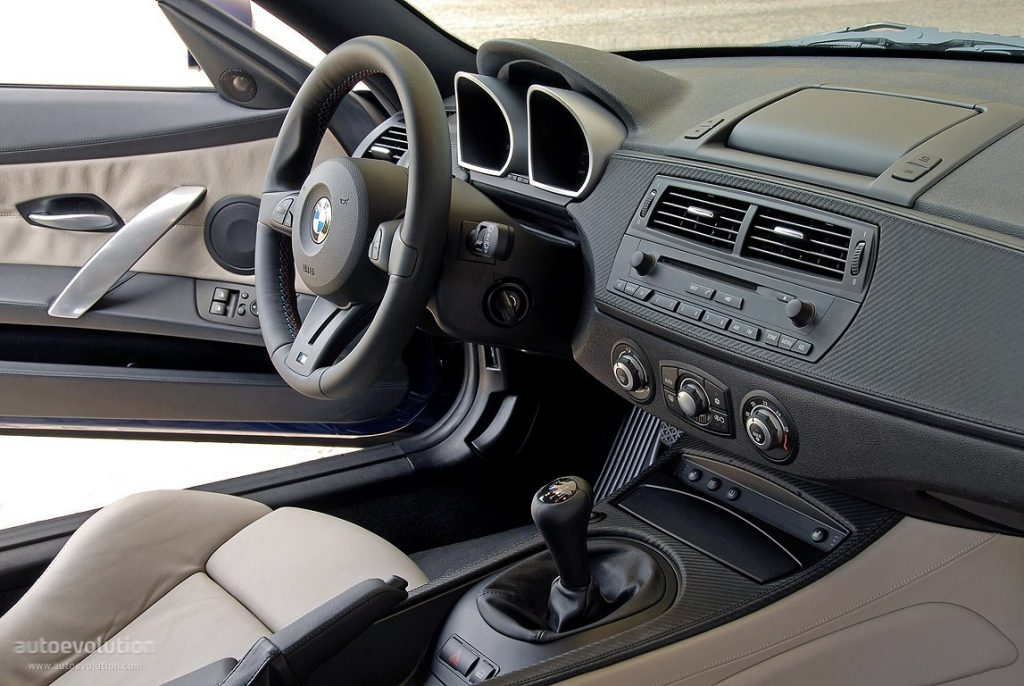 BMW Z4M coupé Interior