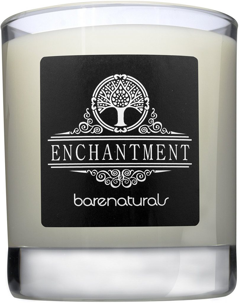Enchantment Natural Scented Candle by Barenaturals