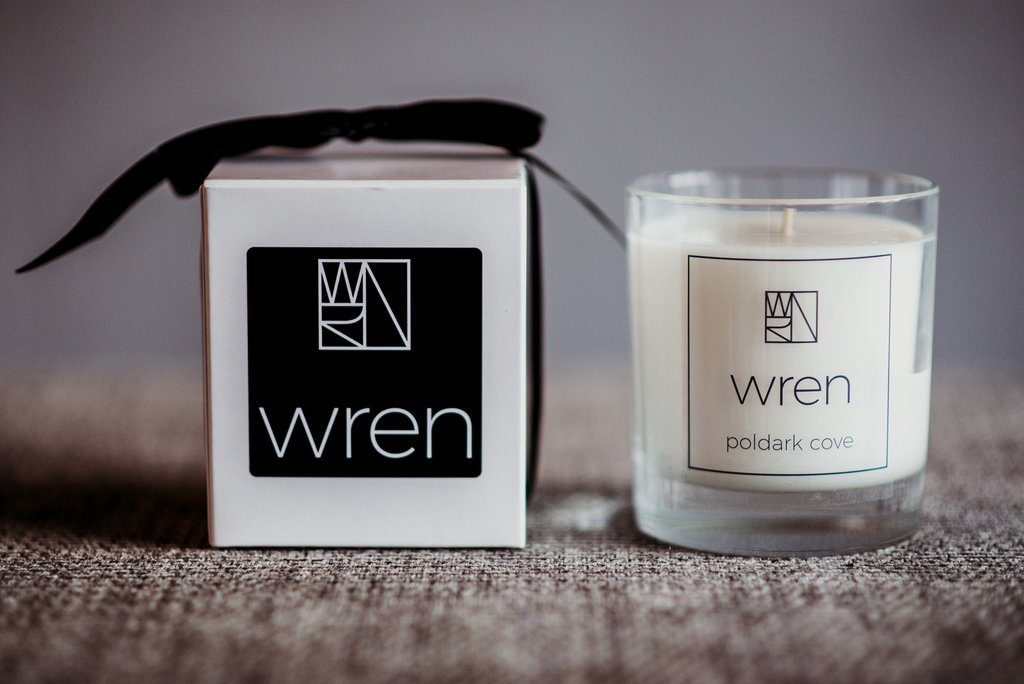 Poldark Cove Candle By Wren Woman