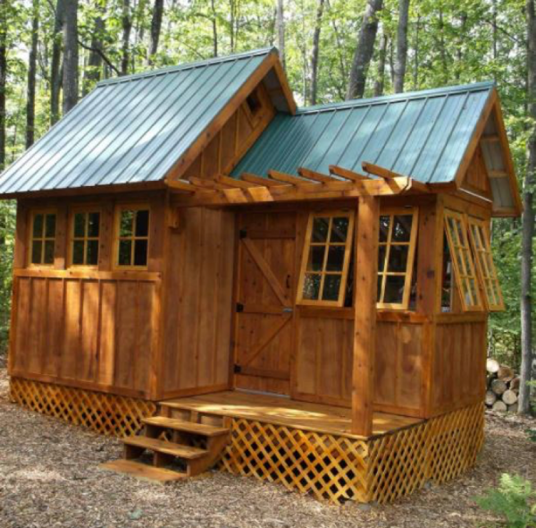 Cool things collection uk lifestyle blog for How much to build a shed house