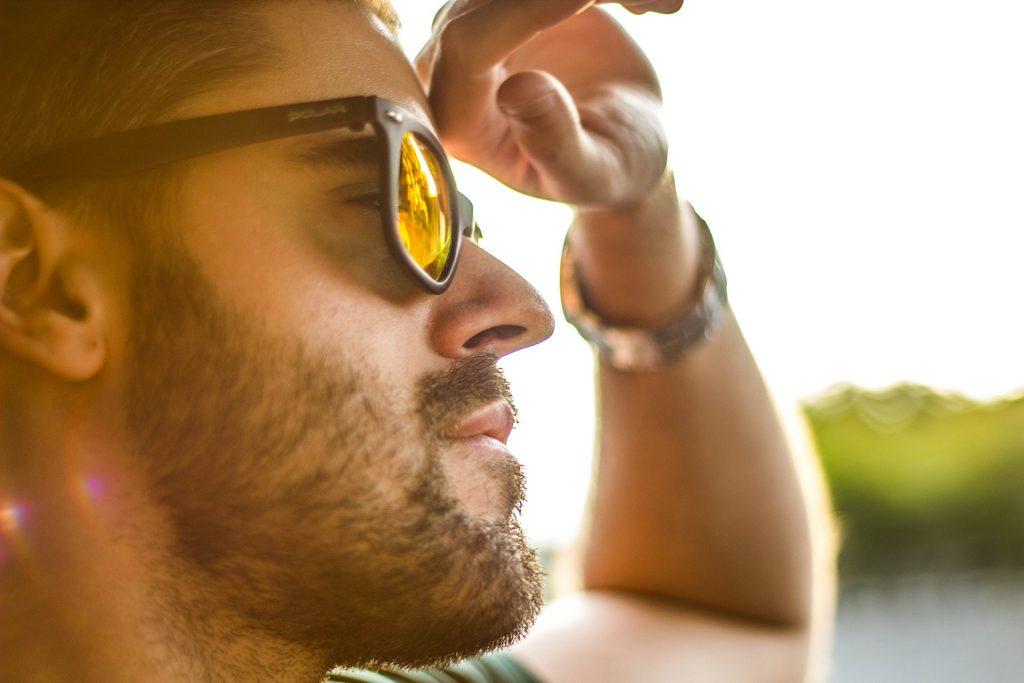 Pair of cool sunglasses