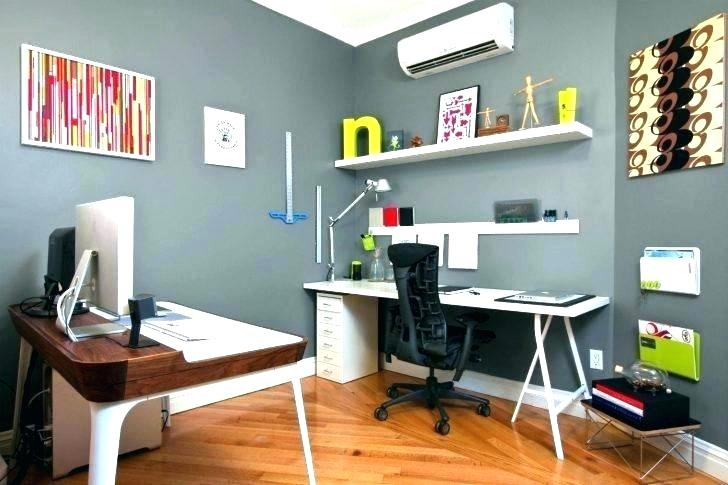 exciting home office design ideas colors | How to Create a Home Office that Boosts Productivity ...