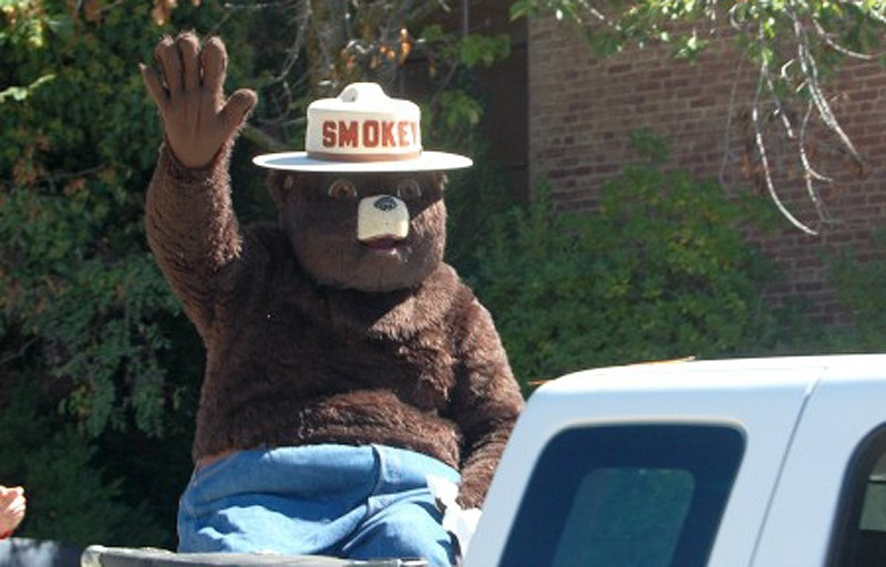 U.S. Forest Service's Smokey Bear.